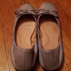 fcdcbe901181 Born Shoes - SALE! Born Karoline Ballet Flats in gray